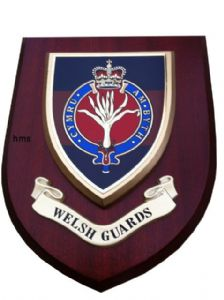 Welsh Guards Military Wall Plaque